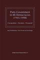 Party Government in 48 Democracies (1945-1998) - Jaap Woldendorp; Hans Keman; Ian Budge