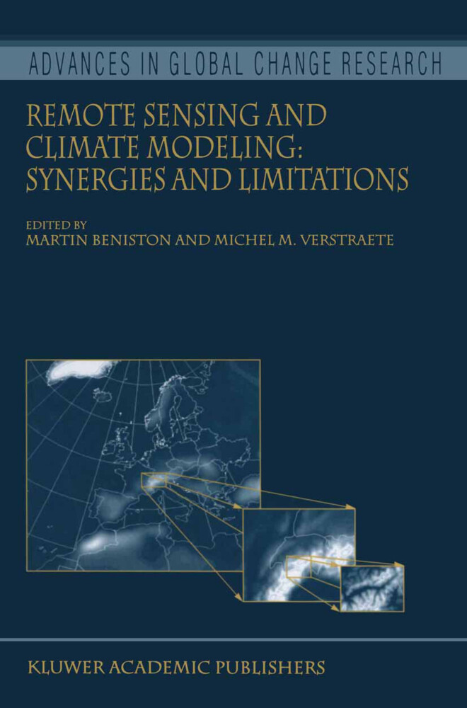 Remote Sensing and Climate Modeling: Synergies and Limitations als Buch von