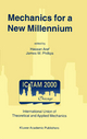 Mechanics for a New Millennium - Hassan Aref; James W. Phillips