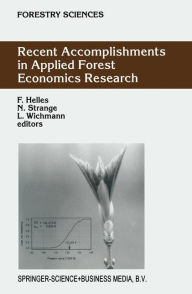Recent Accomplishments in Applied Forest Economics Research - F. Helles
