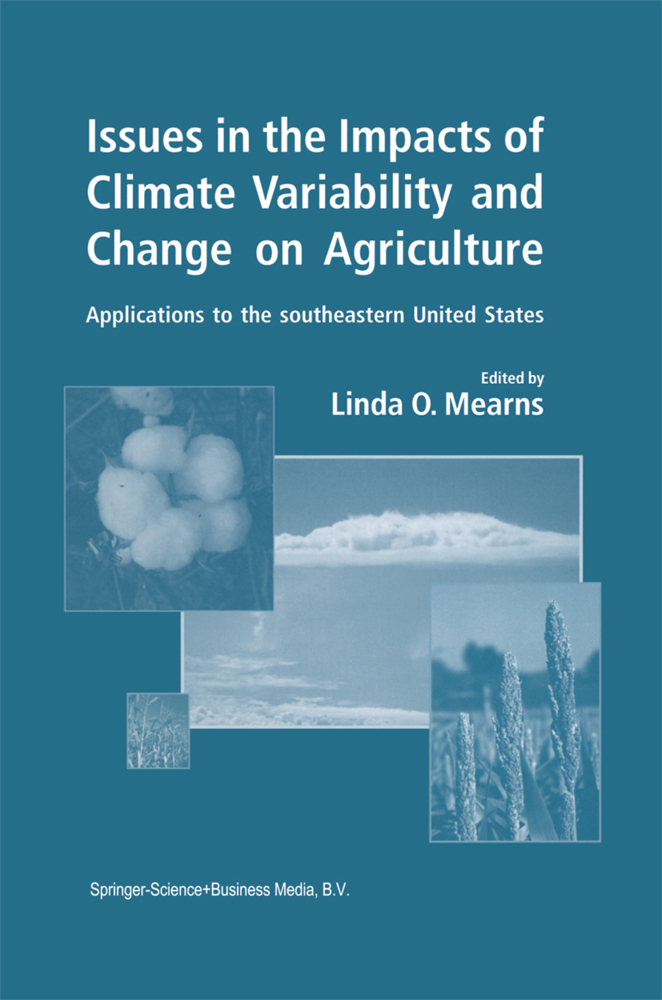 Issues in the Impacts of Climate Variability and Change on Agriculture als Buch von - Springer