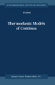 Thermoelastic Models of Continua - D. Iesan