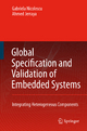 Global Specification and Validation of Embedded Systems - Gabriela Nicolescu; Ahmed Amine Jerraya