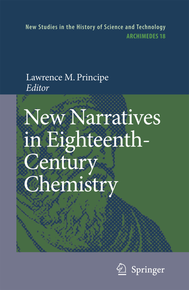 New Narratives in Eighteenth-Century Chemistry als Buch von - Springer