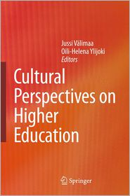 Cultural Perspectives on Higher Education - Jussi Valimaa (Editor), Oili-Helena Ylijoki (Editor)