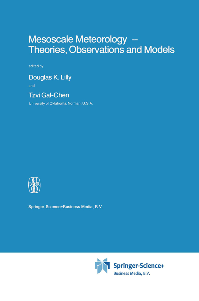Mesoscale Meteorology - Theories, Observations and Models als Buch von - Springer Netherlands