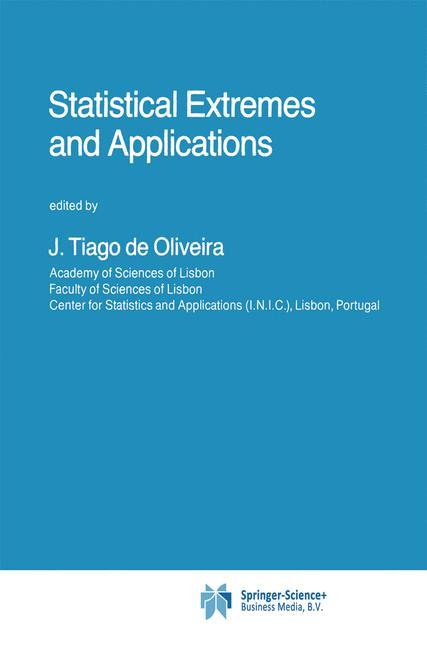 Statistical Extremes and Applications als Buch von - Springer Netherlands