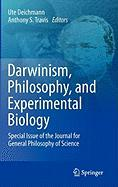 Darwinism, Philosophy, and Experimental Biology: Special Issue of the Journal for General Philosophy of Science