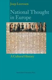 National Thought in Europe: A Cultural History - Leerssen, Joep