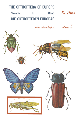 Die Orthopteren Europas / The Orthoptera of Europe - A. Harz