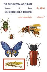 Die Orthopteren Europas II / The Orthoptera of Europe II - A. Harz