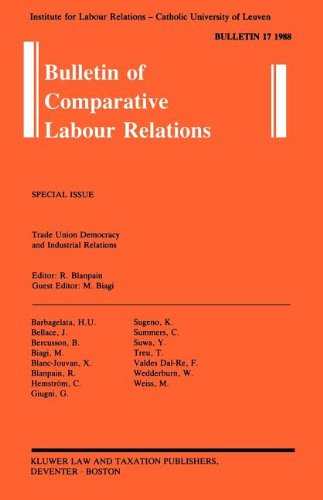 Trade Union Democracy and Industrial Relations (Bulletin of Comparative Labour Relations)  Auflage: 1 - Roger Blanpain