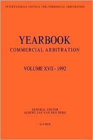 Yearbook Commercial Arbitration Volume XVII - 1992 - Albert Jan Van Den Berg