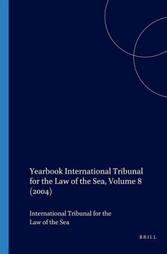 Yearbook International Tribunal for the Law of the Sea - Herausgeber: International Tribunal for the Law of th