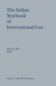 The Italian Yearbook of International Law, Volume 14 (2004) - Benedetto Conforti; Luigi Ferrari Bravo; Francesco Francioni; Natalino Ronzitti; Giorgio Sacerdoti