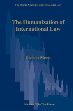 The Humanization of International Law - Meron, Theodor