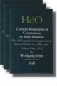 Concise Biographical Companion to Index Islamicus (3 vols.) - Wolfgang Behn