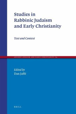 Studies in Rabbinic Judaism and Early Christianity: Text and Context - Jaff, Dan Jaffe, Dan