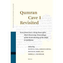 Qumran Cave 1 Revisited (Studies of the Texts of Thedesert of Judah) - Unknown