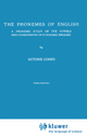 The Phonemes of English - A. Cohen