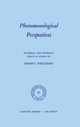 Phenomenological Perspectives - P. J. Bossert