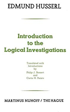 Introduction to the Logical Investigations: A Draft of a