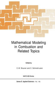 Mathematical Modeling in Combustion and Related Topics Claude-Michel Brauner Editor