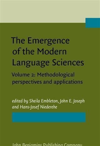 Emergence of the Modern Language Sciences