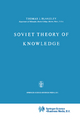 Soviet Theory of Knowledge - J. E. Blakeley