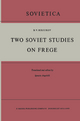 Two Soviet Studies on Frege - B. V. Birjukov
