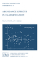 Abundance Effects in Classification - B. Hauck; P.C. Keenan