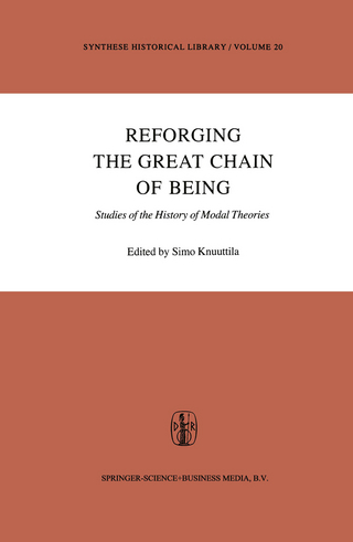 Reforging the Great Chain of Being - Simo Knuuttila