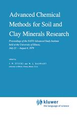 Advanced Chemical Methods for Soil and Clay Minerals Research - J.W. Stucki; W.L. Banwart