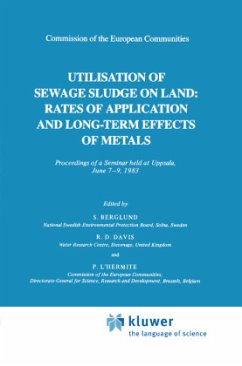 Utilization of Sewage Sludge on Land: Rates of Application and Long-Term Effects of Metals - Davis, R.D. / L'Hermite, P. / Berglund, S. (Hgg.)