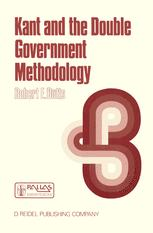 Kant and the Double Government Methodology - Robert E. Butts