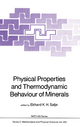 Physical Properties and Thermodynamic Behaviour of Minerals - E. K. H. Salje