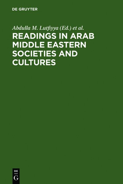 Readings in Arab Middle Eastern Societies and Cultures als Buch von - De Gruyter Mouton