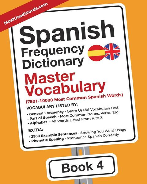 Spanish Frequency Dictionary - Master Vocabulary