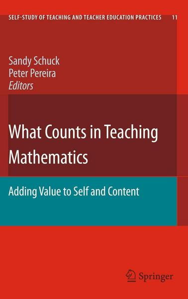What Counts in Teaching Mathematics - Springer Netherland