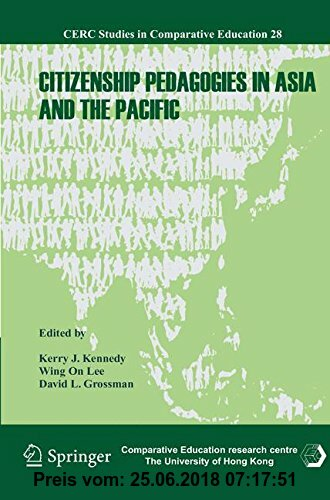 Gebr. - Citizenship Pedagogies in Asia and the Pacific (CERC Studies in Comparative Education)