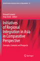 Initiatives of Regional Integration in Asia in Comparative Perspective - Howard Loewen; Anja Zorob