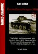 Tanks & Armour - Panzerkampfwagen 38(t) - Pzkpfw 38(t) - Aufklarungspanzer 38(t) - Marder III (Ausf H & M) - Flakpanzer 38(t) - Flammpanzer 38(t) - Bergepanzer 38(t) - Hetzer - sIG 33/1Gw38(t) (Ausf H & M)