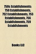 750s Establishments: Wessobrunn Abbey,