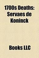 1700s Deaths: Servaes de Koninck