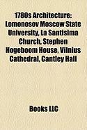 1780s Architecture: Lomonosov Moscow State University