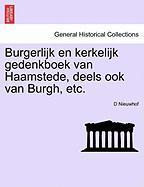 Nieuwhof, D: Burgerlijk en kerkelijk gedenkboek van Haamsted
