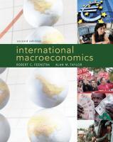International Macroeconomics International Version