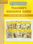 Quickreads Teacher's Resource Guide: Quickreads Series 4