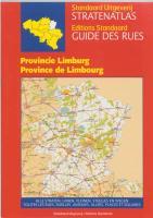 Stratenatlas provincie Limburg / druk 1