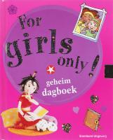 For girls only ! / druk 1